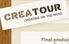 Creatour was een project waarbij ik samen met 3 anderen door Europa ben gaan reizen om kleine multimediale projecten te doen voor de mensen die we tegen kwamen.